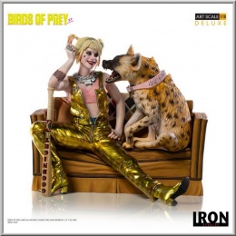 Iron Studios Harley Quinn & Bruce - Birds of Prey