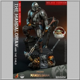 Hot Toys 1/4 The Mandalorian & The Child Deluxe - Star Wars The Mandalorian