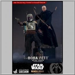 Hot Toys Pack 2 Boba Fett Deluxe - Star Wars The Mandalorian