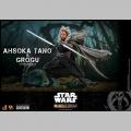 Hot Toys pack Ahsoka Tano & Grogu - Star Wars The Mandalorian