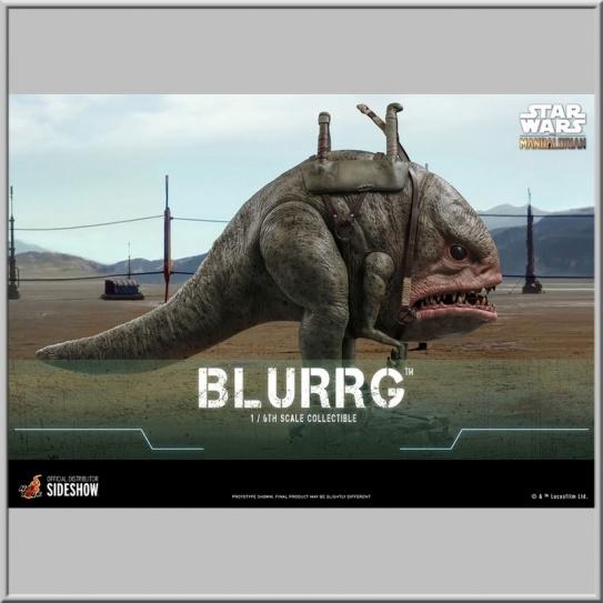 Hot Toys Blurrg - Star Wars The Mandalorian