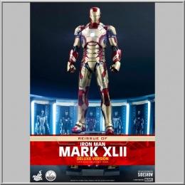 Hot Toys 1/4 Iron Man Mark XLII Deluxe Ver. - Iron Man 3
