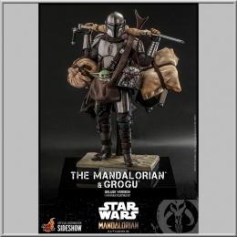 Hot Toys The Mandalorian & Grogu Deluxe Version - Star Wars The Mandalorian