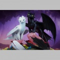 Sideshow Light Fury - Dragons