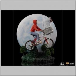 Iron Studios E.T. & Elliot DX - E.T. l´extra-terrestre