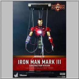 Hot Toys Iron Man Mark III (Construction Version) - Iron Man