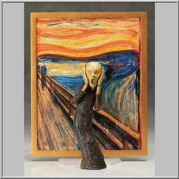 Figma The Scream - The Table Museum (Freeing)