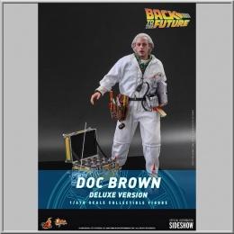 Hot Toys Doc Brown (Deluxe Version) - Retour vers le futur