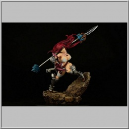 Erza Scarlet the Knight Ver. Refine 2022 - Fairy Tail (Orca Toys)