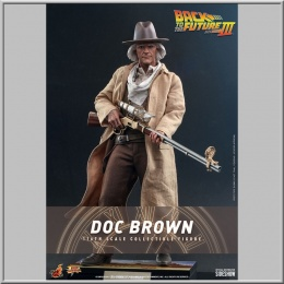 Hot Toys Doc Brown - Back to the Future III