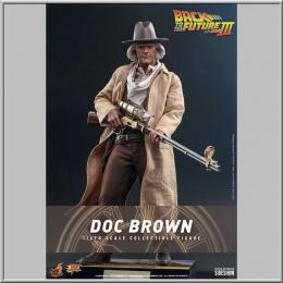 Hot Toys Doc Brown - Retour vers le futur III