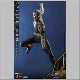 Hot Toys Spider-Man (Black & Gold Suit) - Spider-Man: No Way Home