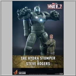 Hot Toys Steve Rogers & The Hydra Stomper - What If...?