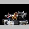 Iron Studios DeLorean Full Set Deluxe - Retour vers le Futur II