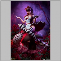 Sideshow Alice in Wonderland Game of Hearts Edition - Fairytale Fantasies Collection